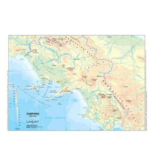 La Cartina Geografica Della Campania.Acquista Cartina Geografica Plastificata A3 Campania Prezzo Scontato 2 5 Negozio On Line Dsufficio Eu