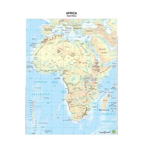 Cartina Giografica Africa.Acquista Cartina Geografica Plastificata A3 Africa Prezzo Scontato 2 5 Negozio On Line Dsufficio Eu